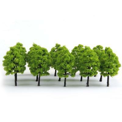 20 Green Trees Model Train Railway Forest Diorama Scenery Architecture Ho Oo