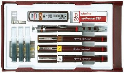 rOtring S0699520 rapidograph 3er College Set 25/35/5