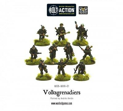 Warlord Games - Bolt Action - Volksgrenadier squad - 28mm