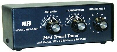 MFJ-902H 3.5 To 30MHz 150W Travel Tuner