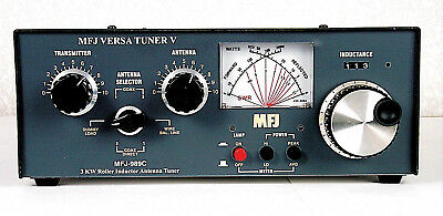 MFJ-989D 1.8 To 30MHz 1500W Manual Tuner With Dummy Load