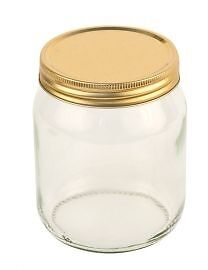 1lb Round Honey Jars with Lids (72 pack) Jams, Preserves