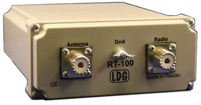 LDG RT/RC-100 - Coax In/Coax Out Remote Tuner (100 Watt)