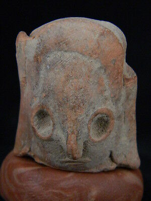 Ancient Teracotta Mother Goddess head Indus Valley 2000 BC     #TR15282