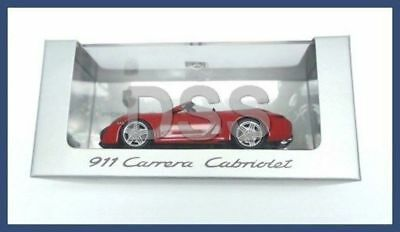 Genuine Porsche 911 Carrera Cabriolet Red Minichamps Model Car 1:43 WAP0200120C