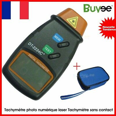 Numérique Laser photo LCD tachymètre RPM tachymètre mesure sans contact-Tool