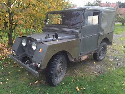 Land Rover Series 1 80 inch Minerva 2 Litre Petrol