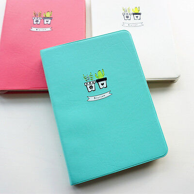 """""""Smile Cactus"""" 1pc Weekly Planner Agenda Scheduler Any Year Cute Study Notebook"""
