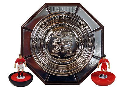 FA COMMUNITY SHIELD. OFFICIAL LICENSED PRODUCT. SUBBUTEO TABLE SOCCER. 70mm.