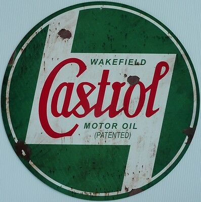Wakefield Castrol Motor Oil , All Weather Metal Sign