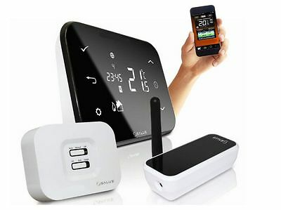 Salus It500 Internet Thermostat Smart Phone Wireless Programmable Heating Zones