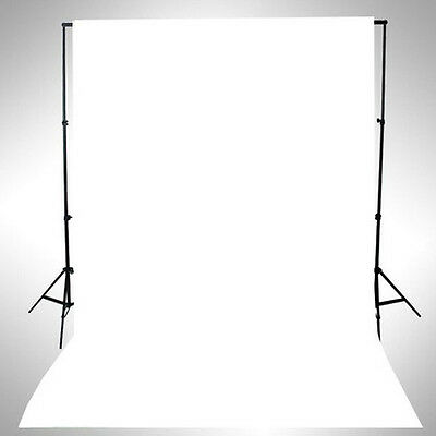 1Pc White Thin Vinyl Photography Backdrop Studio Background Props Durable