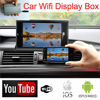 Car Airplay Miracast WiFi Smartphone Stereos Screen Android Samsung IOS iPhone
