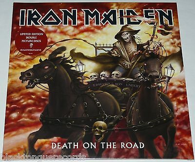 Iron Maiden Death On The Road LP DBL Picture Disc Vinyl - NEW Official