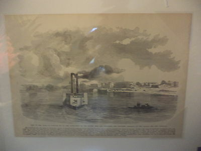 Mobile and Ohio Railroad Paducah KY Tennessee River Civil War