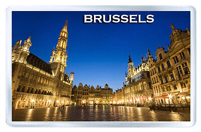 Brussels Mod2 Fridge Magnet Souvenir Iman Nevera