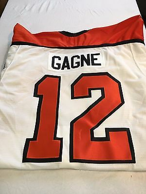 Brand New Simon Gagne  12 Philadelphia Flyers White Nike Authentic Jersey  Nwt 6a92a61c6