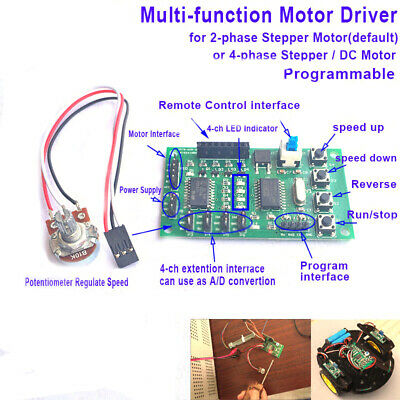 Multi-function Programmable 2/4 phase Stepper Motor Treiber Control Board Module