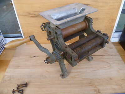Old Early Large Industrial Cast Iron Spaghetti Maker, Kitchen Tool, (B481)