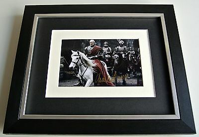 Charles Dance SIGNED 10x8 FRAMED Photo Autograph Display Game of Thrones TV COA