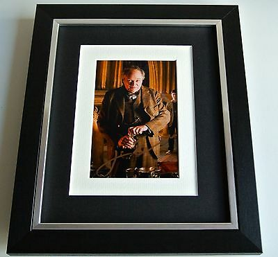 Jim Broadbent SIGNED 10x8 FRAMED Photo Autograph Display Harry Potter Film COA