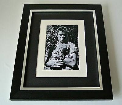 Sir Cliff Richard SIGNED 10x8 FRAMED Photo Mount Autograph Display Music & COA