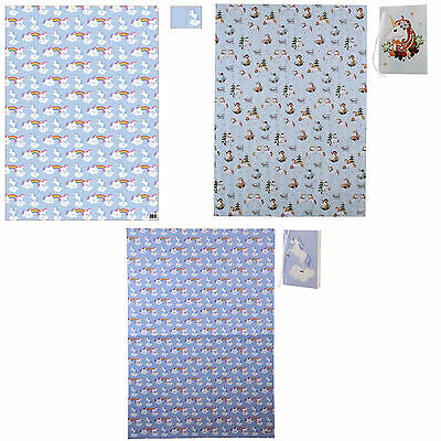 Unicorn Gift Wrap ~ Choice of Wrapping Paper with Tag