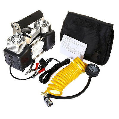 12v 150 PSI Hi Speed Heavy Duty Car Van 4x4 Tyre Air Compressor Inflator DC 12v