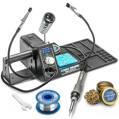 X-Tronic® Model #3020-XTS 75 Watt Digital LED Display Soldering Iron Station