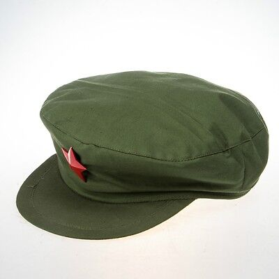 WW2 Chinese MiLitary Liberation Army Cap Chinese Hat L