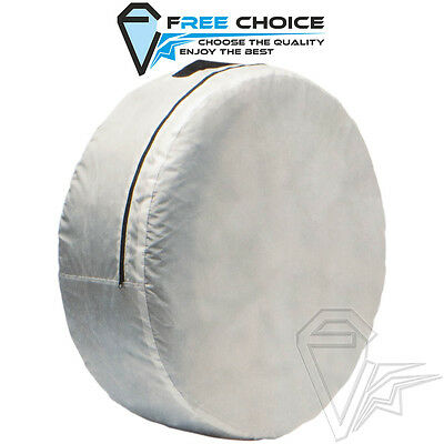 1x Spare Tyre Cover Wheel Cover Carry Bag Car Van Protection Storage Space Saver