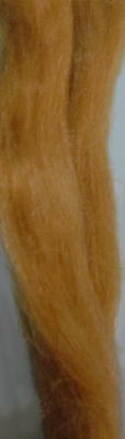 English Mohair golden blonde for rooting dolls Reborn 1/2 oz