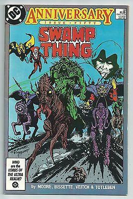Swamp Thing #50 - Higher Grade - 1St Appearance Justice League Dark! Alan Moore!