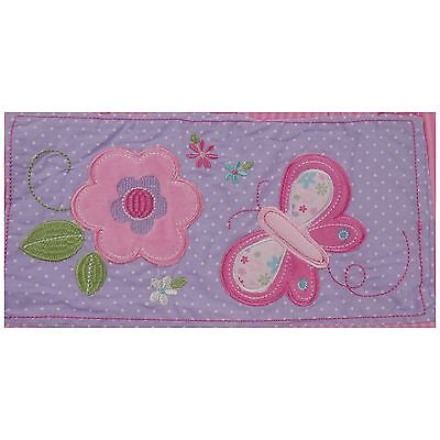 Garanimals Nappy Diaper Stacker Butterfly Blossoms Girl Pink Flowers Butterfly