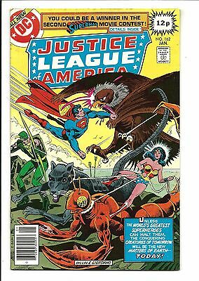Justice League Of America # 162 (Jan 1979), Fn/vf