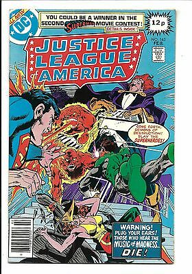 Justice League Of America # 163 (Feb 1979), Vf-