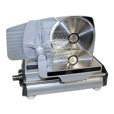 Commercial Electric Meat Slicer Food Deli Cheese Cut Blade Kitchen Home Parties