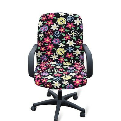 New Chair Cover Simple Office Armchair Protector Swivel Chair Elastic Slipcover