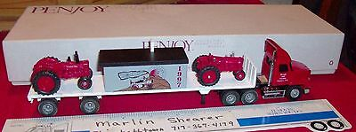 penjoy ROUGH AND TUMBLE 1997 IH COLLECTOR'S CLUB #8 TRACTOR TRAILER