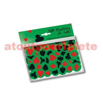 "Confettis de Table ""Casino""(sachet de 150)"
