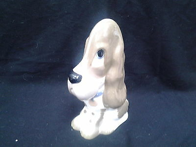 Large Szeiler Droopy Bloodhound Sad Faced Dog Excellent Condition 9 inch Tall