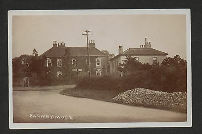 Barnbymoor - real photographic postcard