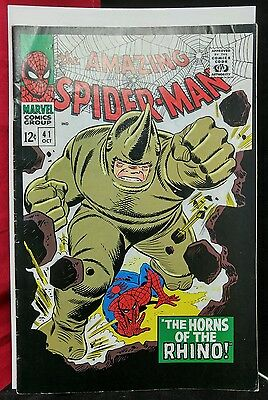 """The Amazing Spider-Man #41 (Oct 1966, Marvel) """"2001 Reprint"""" REALLY COOL"""