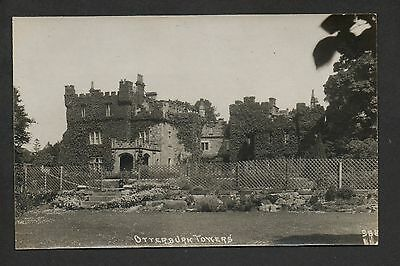 Otterburn Towers - real photographic postcard