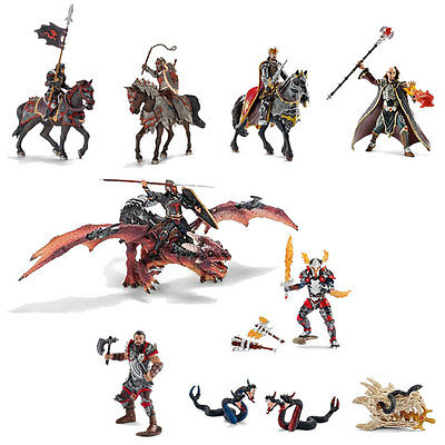Schleich - Dragon Knight Play Set (11 x toy figure models) NEW knights heroes
