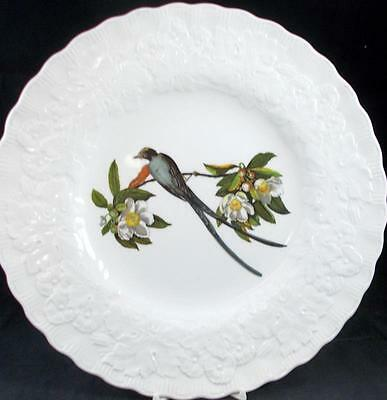 Meakin BIRDS of AMERICA Dinner Plate #168 Fork Tailed Fly Catcher A+ CONDITION