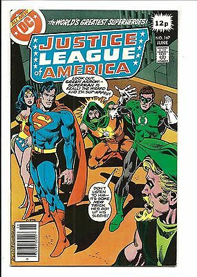 Justice League Of America # 167 (June 1979), Vf