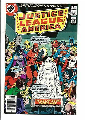 Justice League Of America # 171 (Oct 1979), Fn/vf