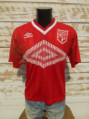 UMBRO Jersey Maillot Camiseta Worn 10 Vintage Made in USA Framingham Soccer Club
