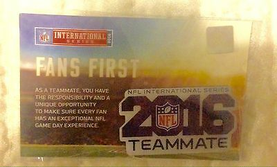 NFL London Series Pin Badge In Presentation Pack *OFFICIAL NFL PRODUCT*